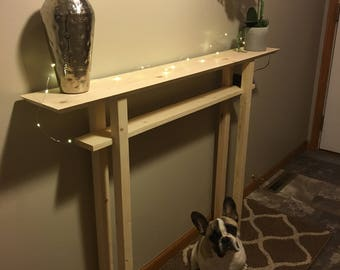 Long Narrow Entryway/Hallway/Console/Decorative Statement/Foyer Table