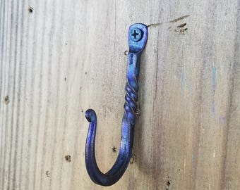 Hand Forged Wall Hook - Small