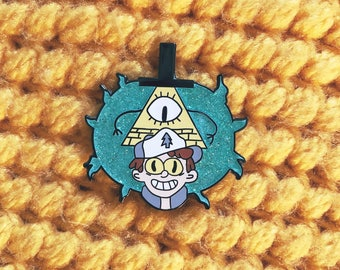 Gravity Falls Dipperbill Enamel Pin