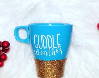 GLITTER DIPPED | Cuddle Weather Mug