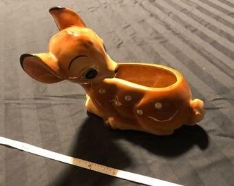 "Rare: Walt Disney Productions WDE146 ""Bamb Planter"" 1960's"