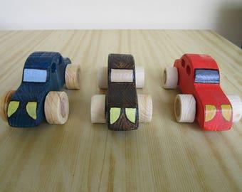 Wooden Cars Toys Handmade