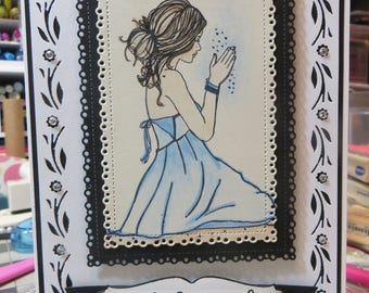 Sympathy card, Handmade sympathy card, sympathy