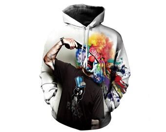 Hoodie Art, Hoodie Pattern, Pattern Hoodie, Graphic Hoodie, Graphic Sweatshirt, Art Hoodie, Art Hoodies, Art, Hoodie, 3d Hoodie - Style 3