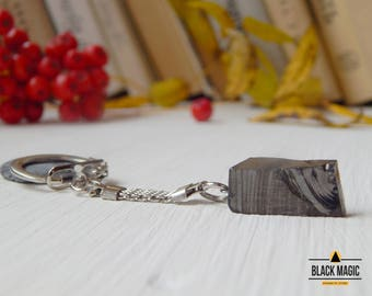 Shungite Keychain Elite shungite stone EMF protection and healing stone
