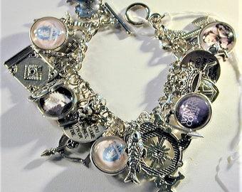 Game of Thrones Inspired Charm Bracelet OOAK
