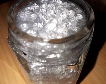 Sparkly mini silver slime