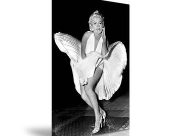 Marilyn Monroe Canvas Wall Art Picture Print 50 cm x 76 cm