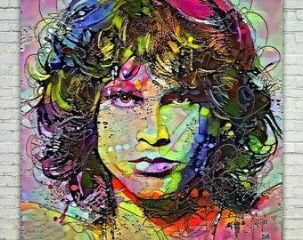 Jim Morrison - Jim Morrison Poster,Jim Morrison  Art,Jim Morrison Print,Jim Morrison Poster,Jim Morrison Merch,Jim Morrison Wall Art,Jim