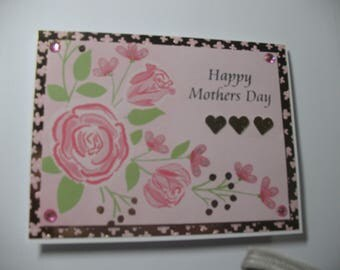 Foiled Flowers Mother's Day Card