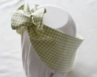 "Headband tie ""Tablecloth"""