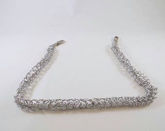 Box chain chainmaille wallet chain 25 inches
