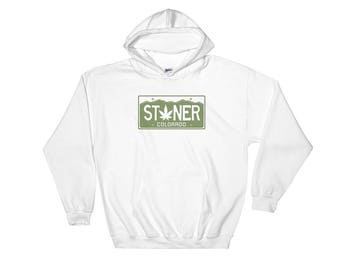 Stoner, Colorado Funny Hooded Sweatshirt