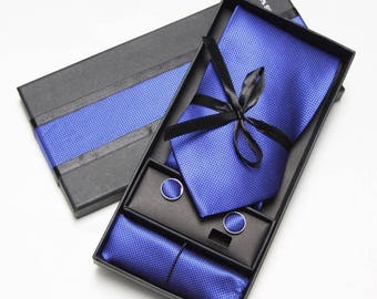 "Niko & Alexander"" Luxury Collection, Handmade, 100% Silk Necktie Set"