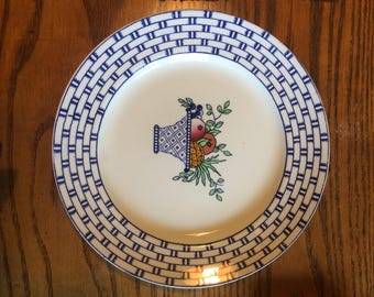 "Bisto England 1930s 10"" Dinner Plate"