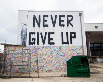 Don't Give Up, Art print