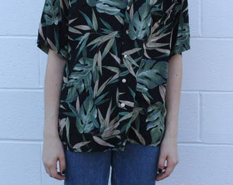 2000's Tori Richard Tropical Button Up