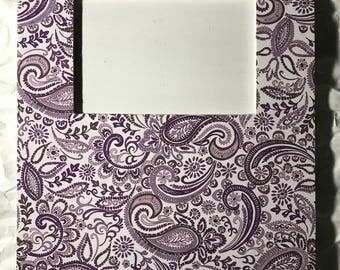 Purple Paisley Frame