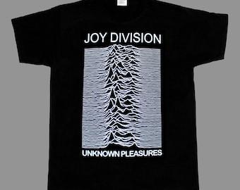 joy division unknown pleasures '79 post punk bauhaus new black t-shirt