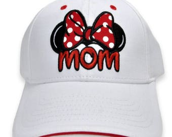 Disney sewn mom hat