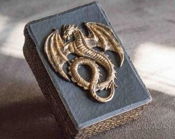 Polymer Clay Dragon Box