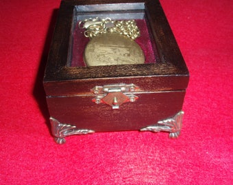 Pocket Watch Box