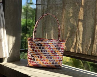 Handcrafted Woman bag by Mexican Artisan from Morelos