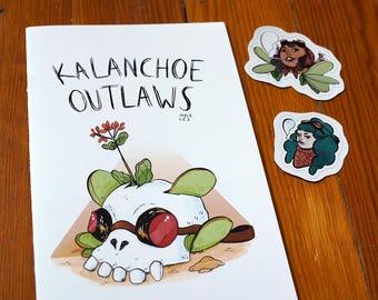"Zine - ""Kalanchoe Outlaws"""