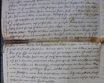 An Antique Letter