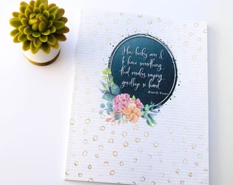 Flowers & Flourish Military Move Journal - 10 Section