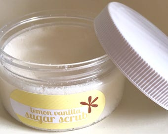 Lemon Vanilla Sugar Scrub
