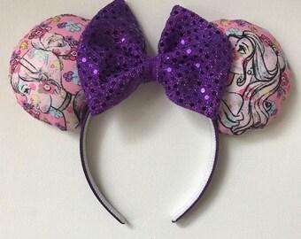 Cinderella and Aurora Flower Ears