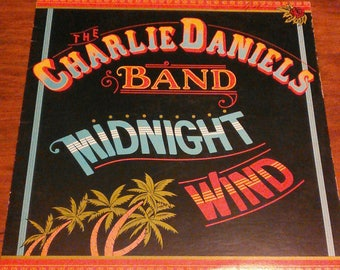 Vinyl: The Charlie Daniels Band, Midnight Wind, Free Shipping