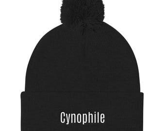Cynophile Pom Pom Knit Cap