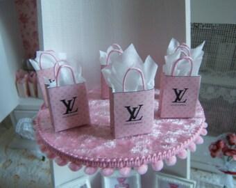 Miniature spirit Louis Vuitton Dollhouse 1: 12 tote bag