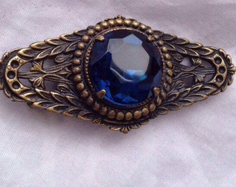 Antique art nouveau inspired brooch