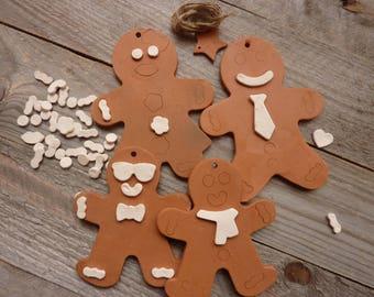 Family Christmas Ginger ceramic rough - 4
