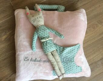 NAP travel cuddly doll cushion pillow BOX