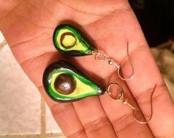 Avocado earrings!!