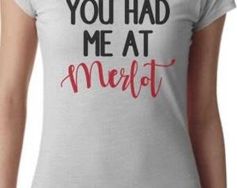Womens Merlot tshirt