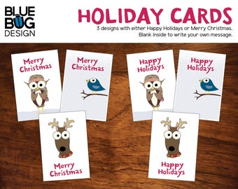 Holiday Cards - 5 x 7