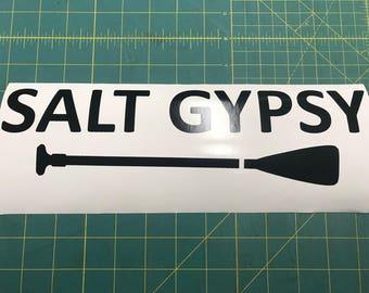 SALT GYPSY  --  15 Year Indoor / Outdoor Vinyl Decal