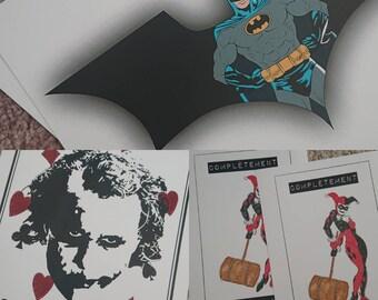 """Illustration trilogy """"Batman"""""""