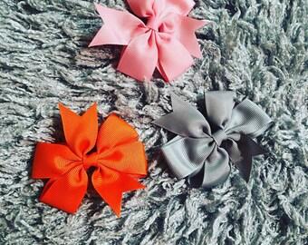 Ribbon hair bows girls hair aaccessories