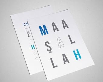 Masallah Typography Design