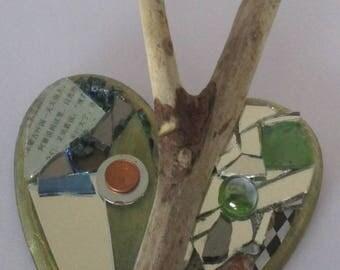 Decorative Heart Mirror