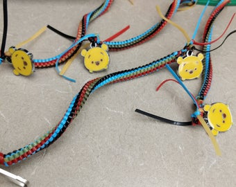 Winnie the pooh inspired lanyards
