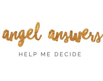 Angel Answers Card Reading