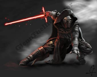 Kylo Ren (before I saw the movie)