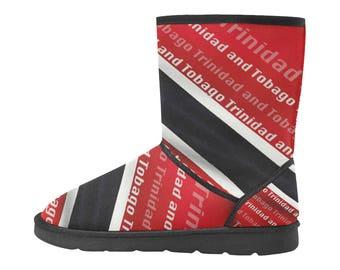 Trinidad & Tobago Custom High Top Snow Boots